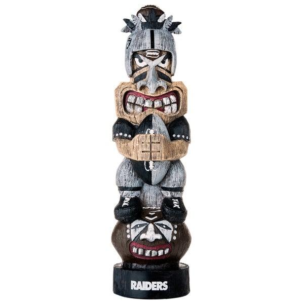 Oakland Raiders NFL Tiki Totem