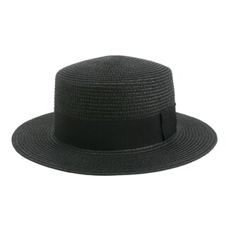 Pop Fashionwear Fashion Panama Straw Boater Hat