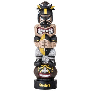 Pittsburgh Steelers NFL Tiki Totem
