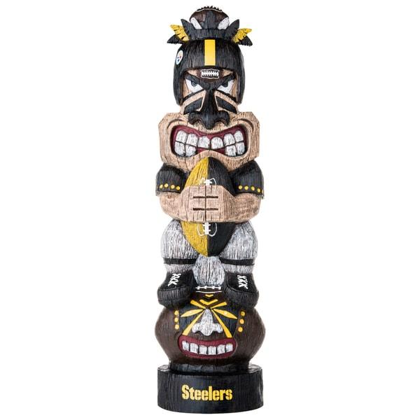 Pittsburgh Steelers NFL Tiki Totem