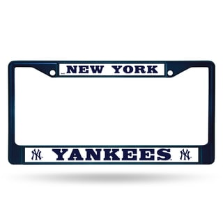New York Yankees MLB Navy Color License Plate Frame