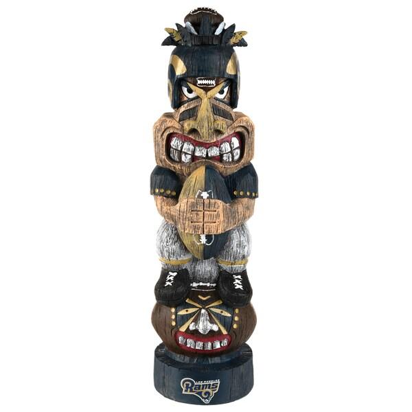 Los Angeles Rams NFL Tiki Totem