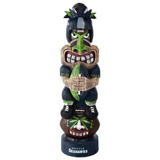 Seattle Seahawks NFL Tiki Totem (Option: Seattle Seahawks)