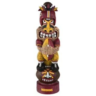 Washington Redskins NFL Tiki Totem