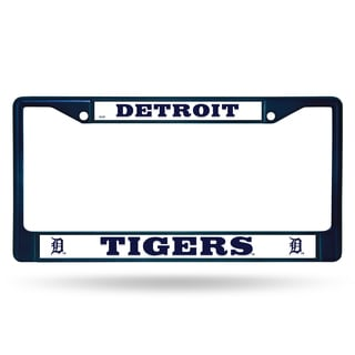 Detroit Tigers MLB Navy Color License Plate Frame