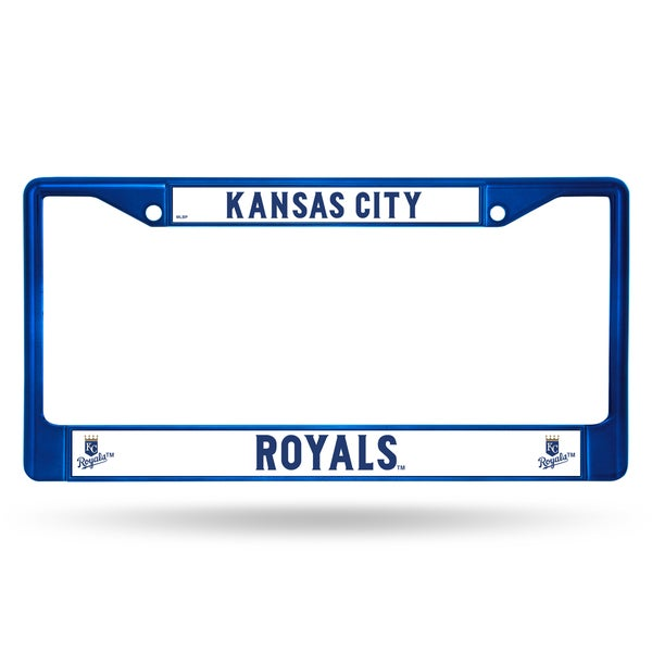 Kansas City Royals MLB Blue Color License Plate Frame