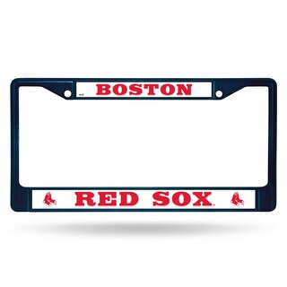 Boston Red Sox MLB Navy Color License Plate Frame