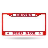 Boston Red Sox MLB Red Color License Plate Frame