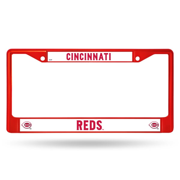Cincinnati Reds MLB Red Color License Plate Frame