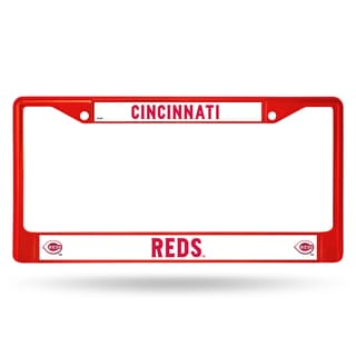 Cincinnati Reds MLB Red Color License Plate Frame