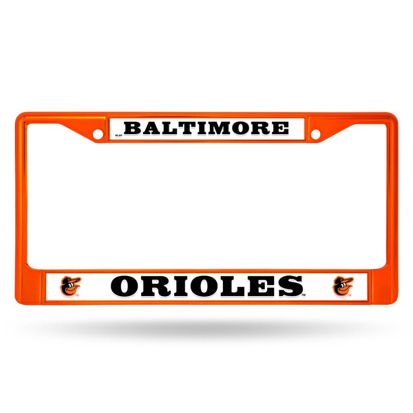 Shop Baltimore Orioles Mlb Orange Color License Plate