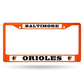 Baltimore Orioles MLB Orange Color License Plate Frame