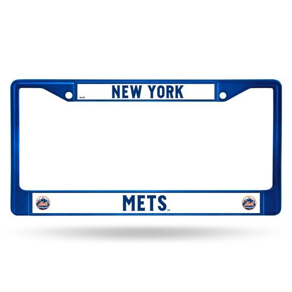 New York Mets MLB Blue Color License Plate Frame
