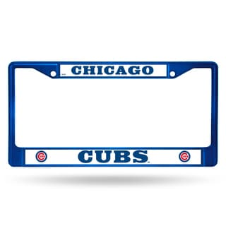 Chicago Cubs MLB Blue Color License Plate Frame