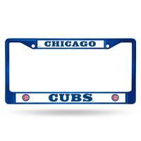 Chicago Cubs MLB Blue Color License Plate Frame