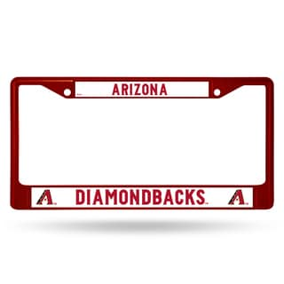 Arizona Diamondbacks MLB Maroon License Plate Frame
