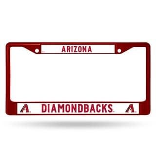 Arizona Diamondbacks MLB Maroon License Plate Frame