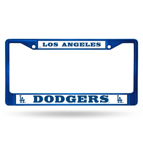 Los Angeles Dodgers MLB Blue Color License Plate Frame