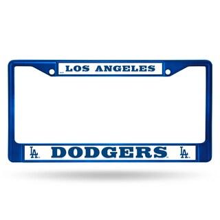 Los Angeles Dodgers MLB Blue Color License Plate Frame