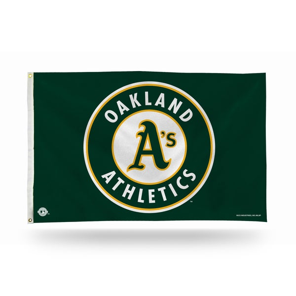 Oakland Athletics MLB 5 Foot Banner Flag