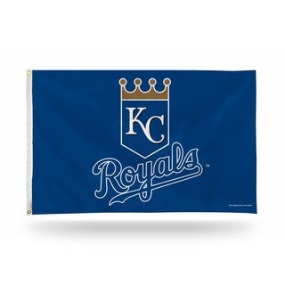 Kansas City Royals MLB 5 Foot Banner Flag