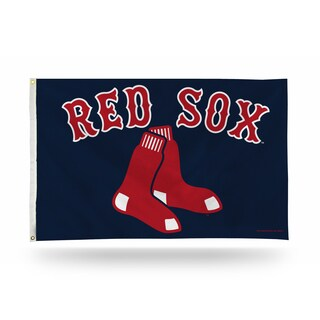 Boston Red Sox MLB 5 Foot Banner Flag