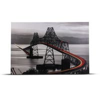 Boomerang Bridge Photo Print on Canvas Wall Art