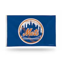 New York Mets MLB 5 Foot Banner Flag