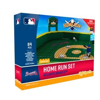Atlanta Braves MLB Home Run Derby Building Block Set