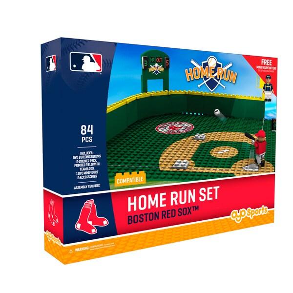 Boston Red Sox MLB Home Run Derby Building Block Set