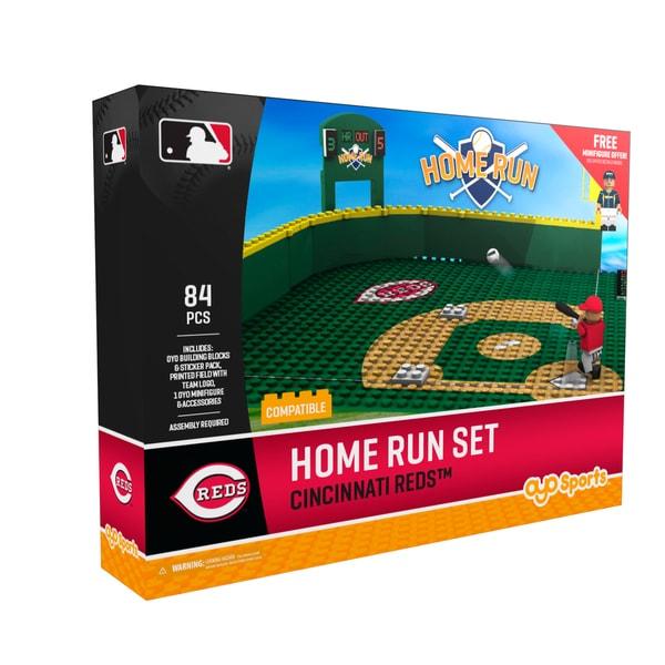 Cincinnati Reds MLB Home Run Derby Building Block Set