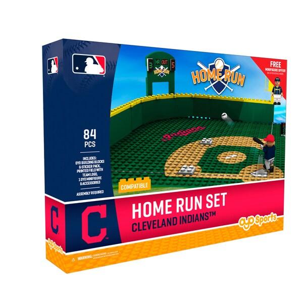 Cleveland Indians MLB Home Run Derby Building Block Set
