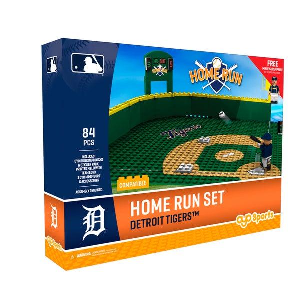 Detroit Tigers MLB Home Run Derby Building Block Set
