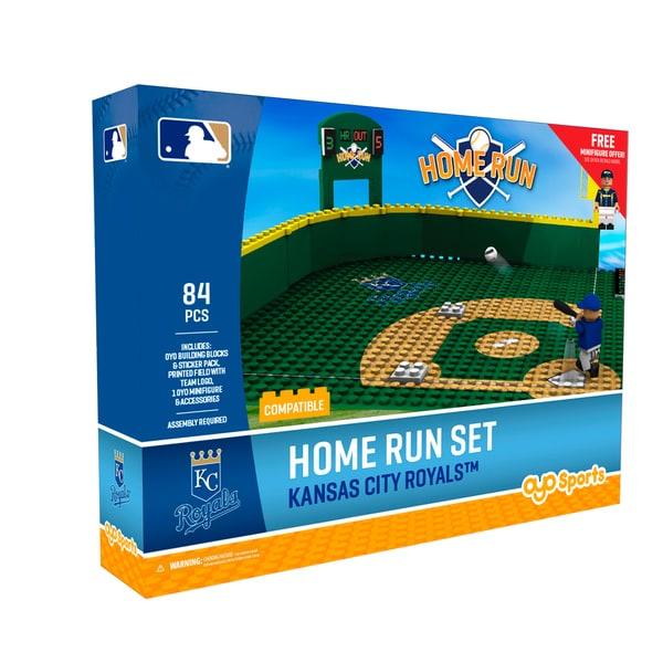 KC Royals MLB Home Run Derby Building Block Set