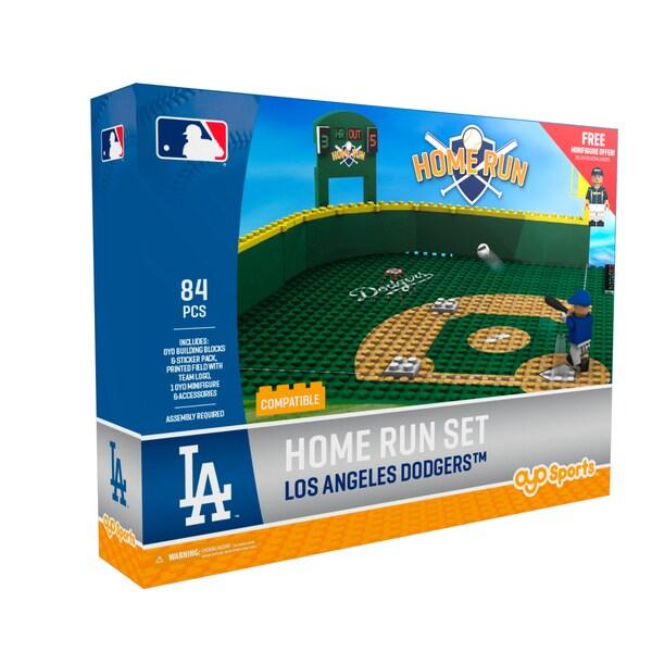 LA Dodgers MLB Home Run Derby Building Block Set