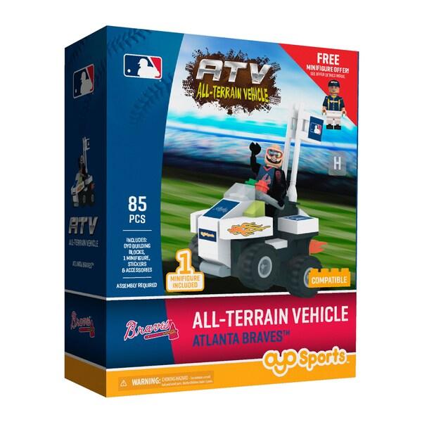 Atlanta Braves MLB All-Terrain Vehicle w/Super Fan Set