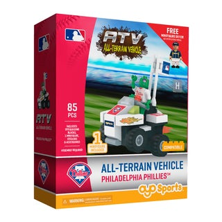 Philadelphia Phillies MLB with Super Fan Building Set