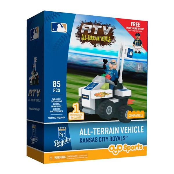 Kansas City Royals MLB Vehicle w/Super Fan Building Set