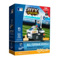 Kansas City Royals MLB Vehicle w/Super Fan Building Set