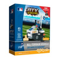 Los Angeles Dodgers MLB Vehicle w/Super Fan Build Set