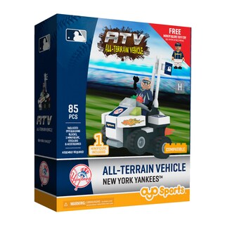 New York Yankees MLB Vehicle w/Super Fan Building Set
