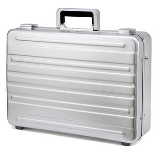 Swiss Style 18-inch Aluminum Luxury Briefcase