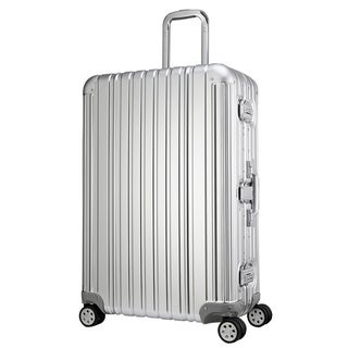 Swiss Style 29-inch Aluminum Alloy Hardside Spinner Upright Suitcase
