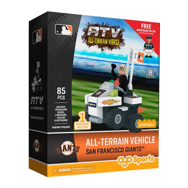 San Francisco Giants MLB Vehicle with Super Fan Set