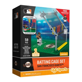San Francisco Giants MLB Batting Cage Building Set