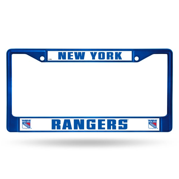 New York Rangers NHL Blue Color License Plate Frame