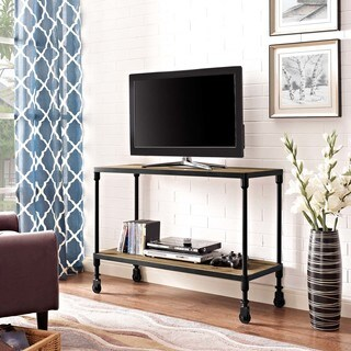 Raise Wood TV Stand