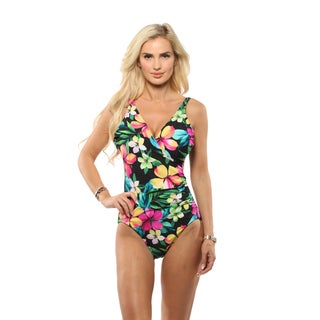 Miraclesuit Wrap One Piece Swimsuit