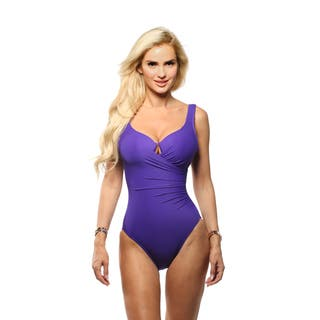 Miraclesuit Escape One Piece Swimsuit|https://ak1.ostkcdn.com/images/products/16072890/P22458885.jpg?impolicy=medium