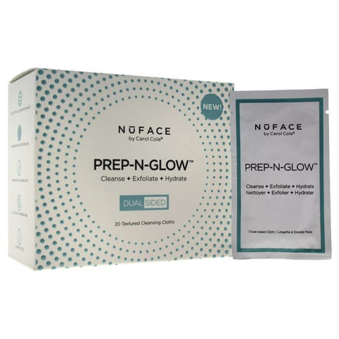 NuFACE Prep-N-Glow Cloth Individual Packette (Pack of 20)